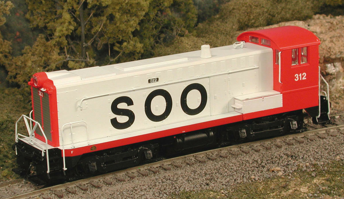 BOWSER 23762 HO Scale DS 4-4-1000 Soo Line Line Line SWITCHER DCC Ready 312 -nuovo 27fd77