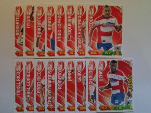 Lote Equipo Plus Junior Adrenalyn XL Liga BBVA 2011//2012 Plus Defensa