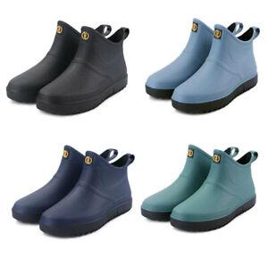 uk mens wellies wellingtons short calf rain boots fishing