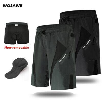 Mens MTB Shorts Off Road Baggy Cycling Shorts Summer Mountain Bike Short Pants