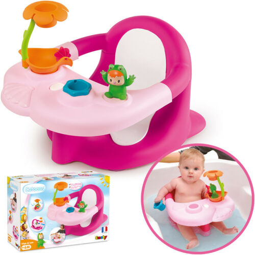 Rotho Baby Badesitz weiß-silbergrau mit Pelikan Spielzeugsammler TOP
