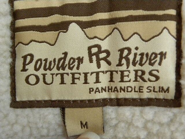 Womens Powder River Outfitters Faux Suede Suede Suede And Fur Hooded Coat  Size Med e84c29