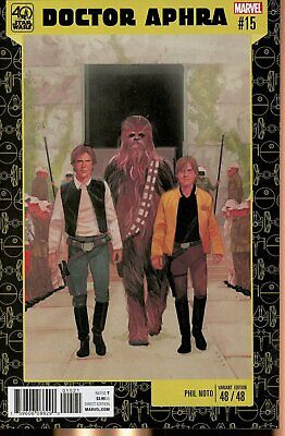 Star Wars Doctor Aphra #14 40th Anniversary Variant Marvel VF//NM Comics Book