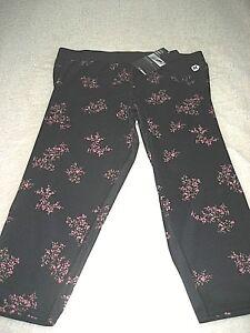 23c1e69aa2c1 Hurley Nike Dri-Fit Womens Crop Legging Yoga Athletic Pants Black ...