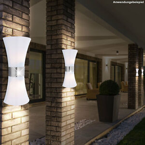 up down au en leuchte garten hof wand mauer beleuchtung outdoor t r lampe licht ebay. Black Bedroom Furniture Sets. Home Design Ideas