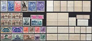 1860-Trieste-Zona-A-Lotto-di-24-francobolli-Nuovi-MNH
