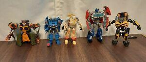Lot Of 5 Vintage Transformers Optimus prime