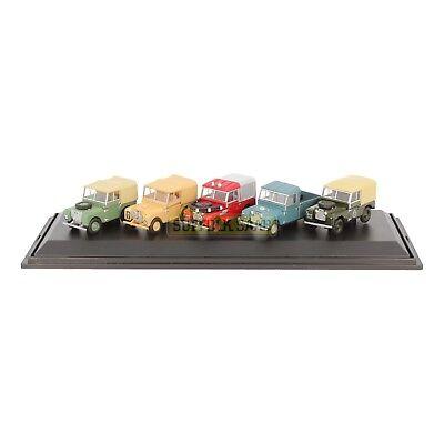 Genuine Land Rover Classic 5 Piece Set 1:76 Scale