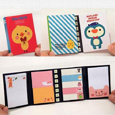Animal Small Sticker Bookmark Memo Sticky Notes Stikynot Stationery