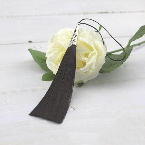 10cm Alloy Hollow Flower Hat tassel Trim Pendant Jewelry DIY Earring Tassels