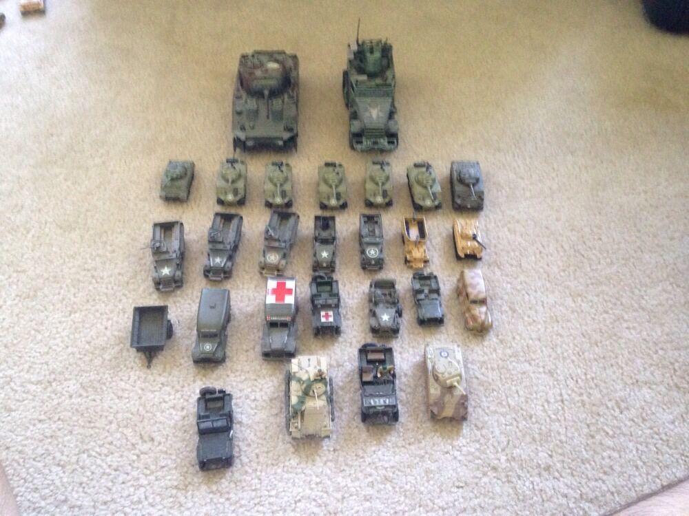 Assorted WW2 American Vehicles (Corgi, Unimax, DCC, Playing Mantis, M.M.T.L,)