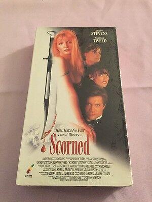 Scorned (VHS, 1994) Andrew Stevens Shannon Tweed. New Sealed