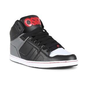 Clk Nyc Red Top Osiris High 83 Grey Black Shoes qZwUUxE