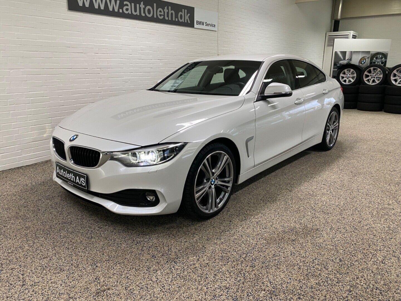 BMW 420d 2,0 Gran Coupé aut. 5d - 349.900 kr.