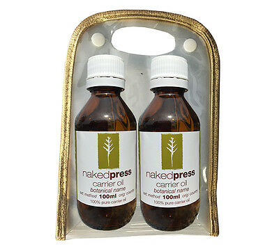 HAIR CARE TREATMENTS - JOJOBA VIRGIN 100ml + ARGAN OIL ORGANIC 100ml GIFT PACK