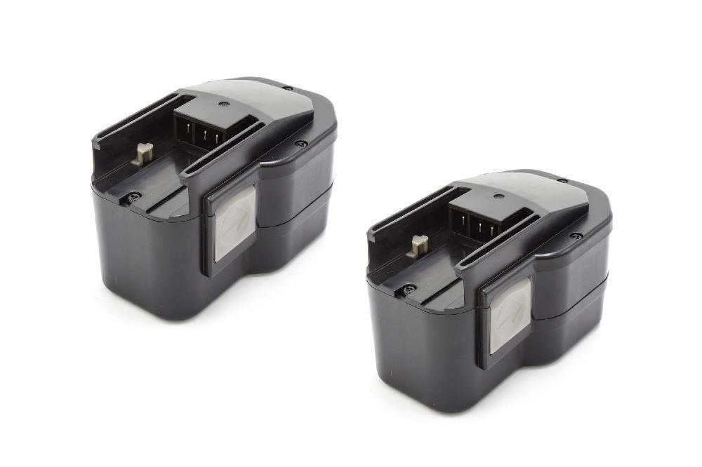 2x Batteria 1500mAh -VHBW- per AEG BDSE 14.4 T Super Torque, BS 14 X