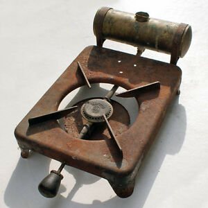 Antique-Norma-rubbing-alcohol-stoves-G-BARTHEL-box-Kettle