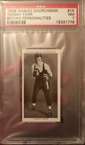 1938-WA-amp-AC-Churchman-Tommy-Farr-Boxing-Personalities-15-PSA-7-NM-Card