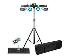 Showtec QFX LED Laser Bar Licht Scheinwerfer Effekt Funk Steuerung Tasche Stativ