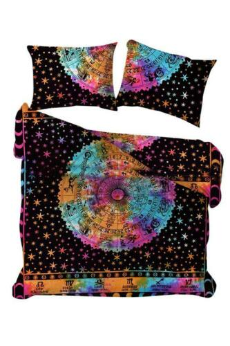 Wonderful Design Bedding Queen Size Duvet Cover With Two Pillow Cover Indian Art