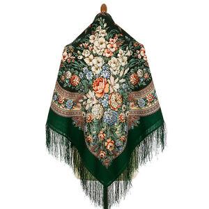 828-9-authentique-Pavlovo-Posad-Chale-100-laine-125x125cm-russe-foulard-wrap-49-034