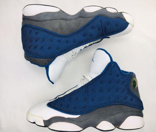 2005 Jordan Retro XIII 13 Flint Grey Blue White OG