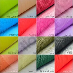 kleid tutu netz dancewear t ll mesh stoff fee material meterware q174 ebay. Black Bedroom Furniture Sets. Home Design Ideas