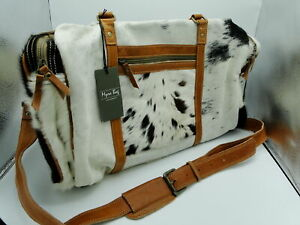 Myra Bag Amore Cowhide Leather Duffle Travel Bag S 1122 819699022961 Ebay At myra, we provide a wide range of canvas, leather & hair on products. details about myra bag amore cowhide leather duffle travel bag s 1122