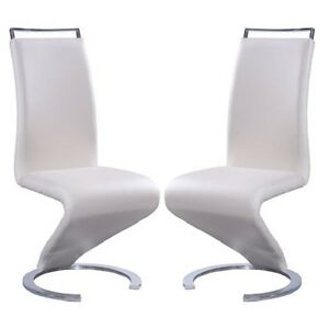 Image Is Loading Summer Z Shape Dining Chair In Cream Faux