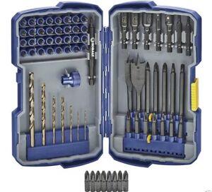 free shipping kobalt 71 drill drive drill bit nut driver paddle screwdriver set ebay. Black Bedroom Furniture Sets. Home Design Ideas