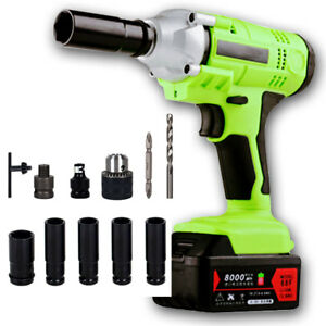 Image Is Loading Repair Tool High Torque Electric Wrench Cordless Impact