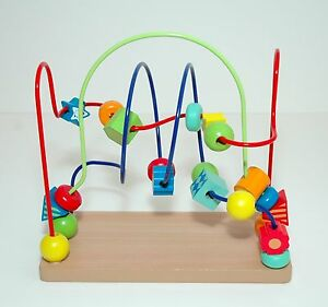 Circo-Wooden-Bead-Maze-Toy-EUC