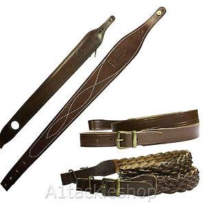 Bisley-Genuine-Leather-Rifle-Sling-Choose-Model