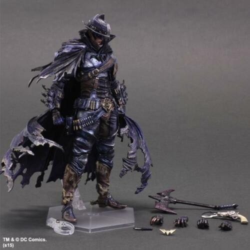 Play Arts Kai Variant Dc Comics Batman Timeless Wild West Version Action Figure