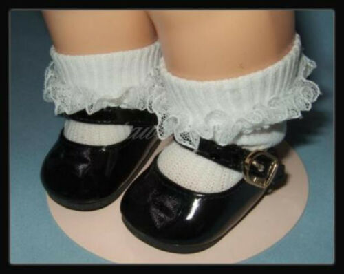 BLACK Patent Mary Jane SHOES fit TERRI LEE  Bitty Baby U.S.SHIPS FREE