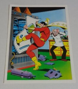 1978-DC-Comics-Shazam-Captain-Marvel-comic-book-poster-2-1970-039-s-Fawcett-JLA-Whiz