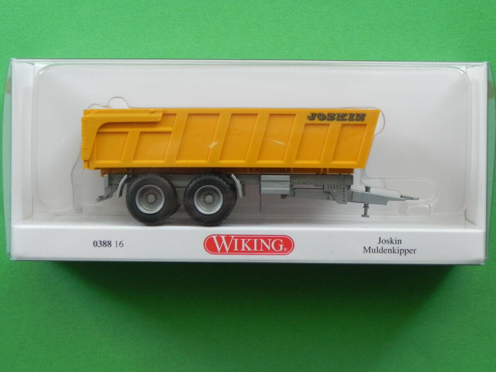 #038813 1:87 Wiking joskin forraje transporter