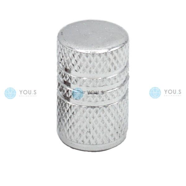 1 Pezzi You. S In Alluminio Valvola Cappuccio Argento Con Guarnizione Per Auto Pkw Lkw Nuove Varietà Sono Introdotte Una Dopo L'Altra