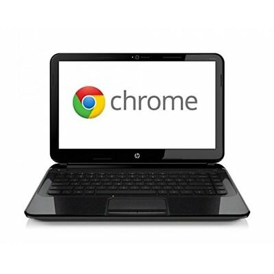 "HP Chromebook 14-C001SA 14"" 16GB eMMC RAM 4GB Chrome OS Intel PC Black"