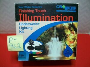 VINTAGE & BRAND NEW CAL PUMP WATERSCAPE SYSTEMS FINISHING TOUCH ILLUMINATION KIT