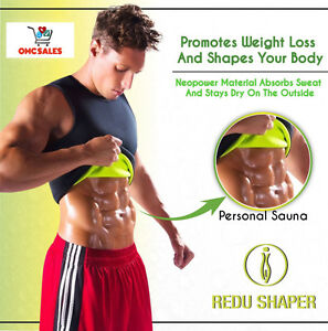 2 REDU SHAPER MAN 3X-LARGE, xtreme power belt, osmotic, tecnomed, redushaper