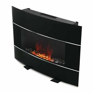 Bionaire Bef6500 Electric Fireplace Heater Wall Mount Freestanding Remote