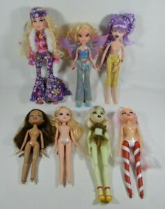 LOT-of-7-Vintage-Original-MGA-BRATZ-Dolls