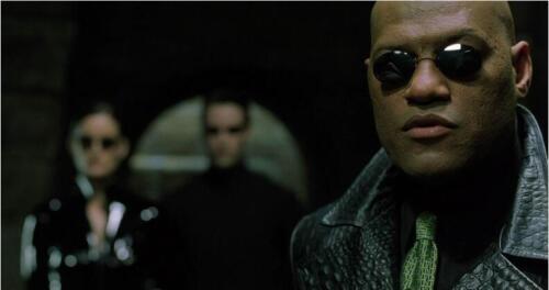 New 2018 Matrix Morpheus UV400 Sunglasses Just Frame Black Men Style Funny Round