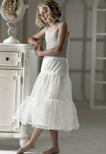 NEW Jupon Ivory or White Flower Girl Holy Communion Net Petticoat SALE