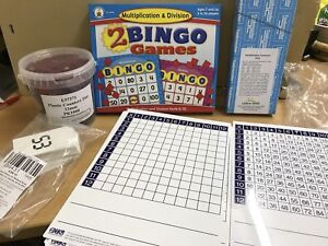 Ensemble de tables Know It Times • Dominos de multiplication inclus