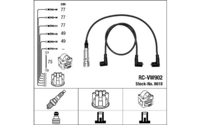 NGK Cables de bujias 8618