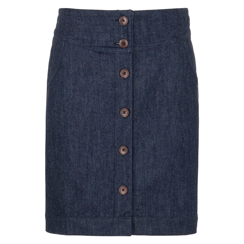 Tranquillo Denim Gonna Gonna Jeans Jeans Jeans Bottoni Blu Magnolia S18F14 0a8941