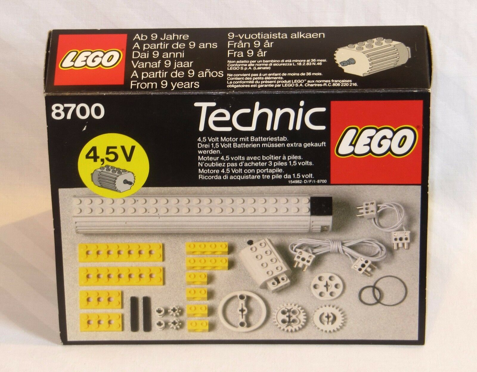 LEGO Technic 8700 Ergänzungsset   Expert Builder Power Pack   Complémentaire Set