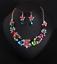 Women-Fashion-Bib-Choker-Chunk-Crystal-Statement-Necklace-Wedding-Jewelry-Set thumbnail 28